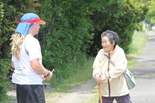 Grandma japan run