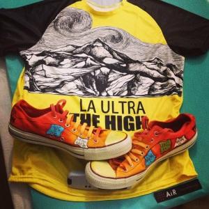 high tee /shoes
