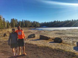 pat & pat frozen lake