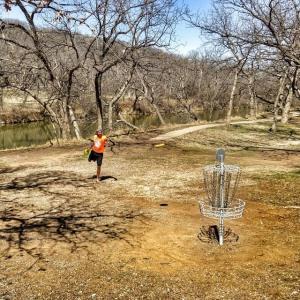 frisbee golf Pat